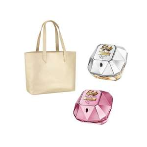 Paco Rabanne bundle including tote bag for £94.40 with code BLACK20 @ The Fragrance Shop
