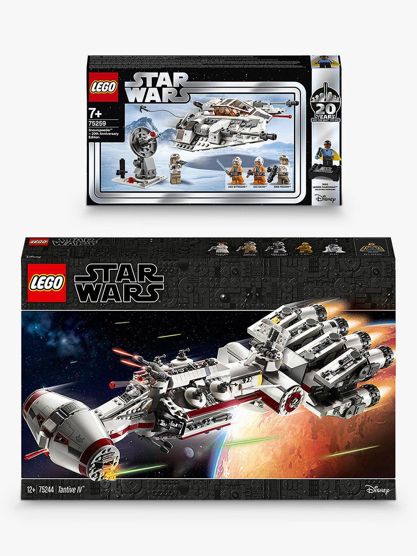 LEGO Star Wars 75244 Tantive IV & 75259 Snowspeeder 20th Anniversary Edition (bundle) £139.23 John Lewis & Partners