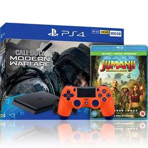 PS4 500GB - Call Of Duty: Modern Warfare bundle with extra controller and Blu-Ray - £219.99 @ Argos