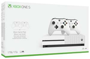 Xbox one s console with 2 controllers + xbox game pass and xbox live gold £159 @ Tesco