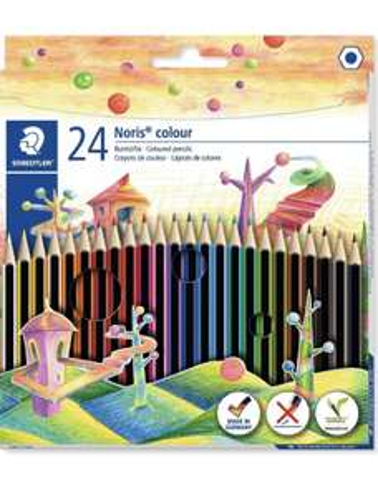 Staedtler 185 C24 Noris Colour Colouring Pencil (24 pack) £3.29 (£4.49 NP) @ Amazon
