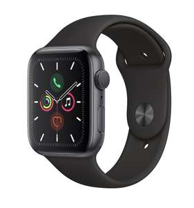 Cheapest so far Apple Watch Series 5 (GPS, 44mm) - Space Grey Aluminum Case with Black Sport Band £409 @ Amazon