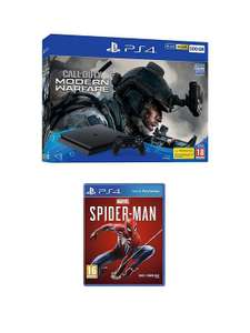 PS4 500GB Call Of Duty Modern Warfare Bundle And Marvel's Spider-Man £199.99 (£149.99 w/ Code, new customer) @ Very