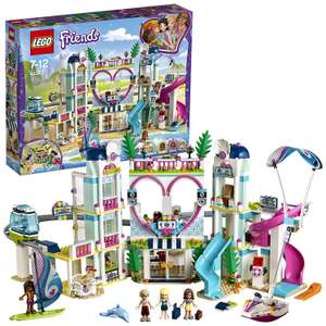 LEGO 41347 Friends Heartlake City Resort, Holiday Dolls House, Hotel with Monorail and Beach Water Park £49.99 @ Amazon