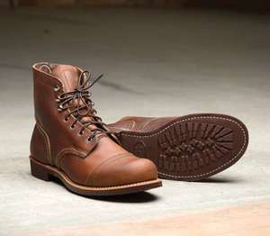 Red Wing Iron Ranger - Amber Harness colour - sizes 6 - 12 (other styles of Redwing boots also available) £231 @ ASOS