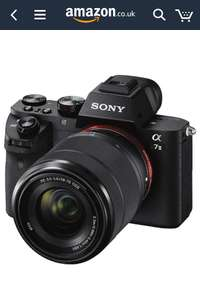 Sony a7 mark 2 without lens.