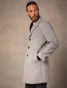 Mens wool overcoat £99 @ Hawes & Curtis