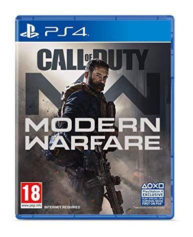 Call of duty modern warfare (Ps4) - £42.99 (£37.99 using £5 off £25) @ Amazon