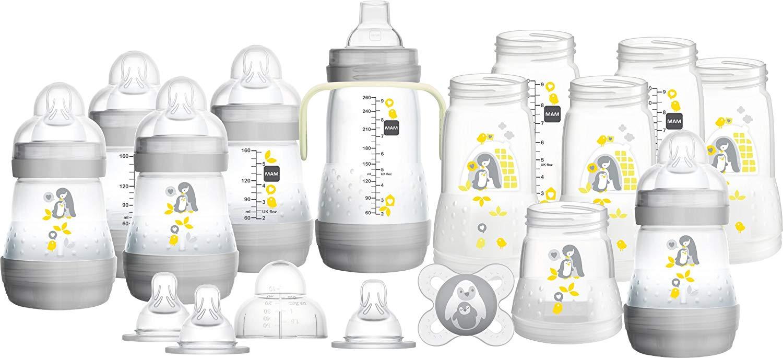MAM Easy Start Anti-Colic Bottle Starter Set, Grey £24 @ Amazon