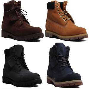 Timberland 6 Inch Waterproof Mens Nubuck Boots B Grade From £84.99 Delivered @ 4feetshoes / eBay