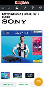 Sony PlayStation 4 500GB Fifa 19 Bundle £189.99 @ Hughes