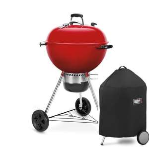 Limited Edition Weber® Master-Touch® GBS® 57cm, Red - £158 @ Riverside Garden Centre