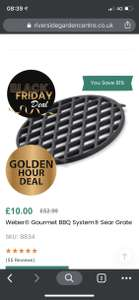 Weber® Gourmet BBQ System® Sear Grate 15.49 (with next day delivery) @ Riverside Garden Centre