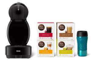 Dolce Gusto Coffee Machine including 4 x pod packs and travel mug £45 @ Debenhams (Free click and collect)