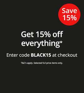 Lloyds Pharmacy online Black Friday Sale now on plus 15% discount