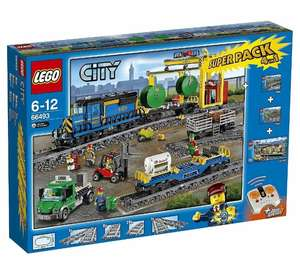 Lego City 66493 4in1 Super Pack Construction Toy Remote Control Cargo Train 6-12 @Tesco_Outlet/eBay