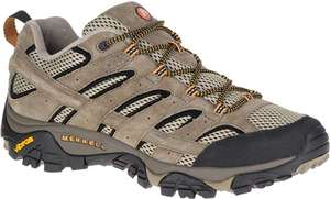 Merrell Men's Moab 2 Vent Low Rise Hiking Boots from £38.42 @ Amazon