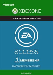 [Xbox One] EA Access - 1 Month Subscription- £1.39 @ CDKEYS