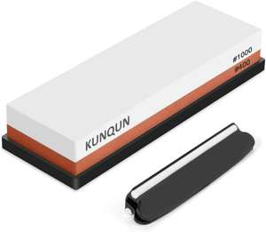 KUNQUN Whetstone 400 1000 Grit, set 2-in-1 Dual Grit £9.59 Lightning Deal (+£4.49 Non Prime) Fufilled By Amazon From Kunqun