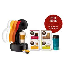 Nescafé Dolce Gusto - Coffee Machine Travel Kit By De'Longhi Travel Mug & 4 Pods £45 @ Debenhams (Free click and collect)