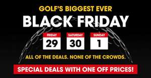 Black Friday Golf Deals up to 70% off @ Clubhouse Golf Direct