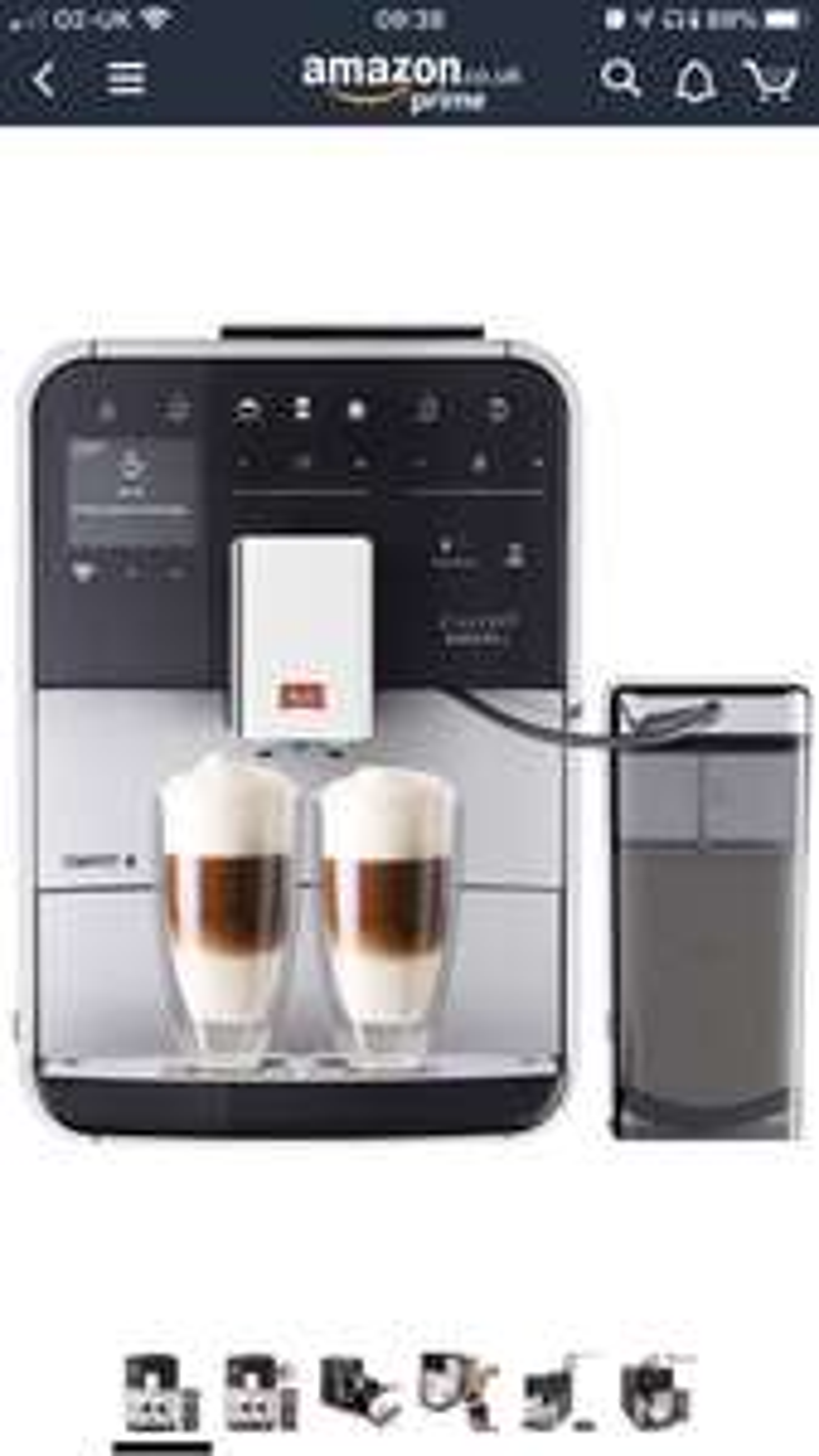 Melitta bean to cup coffee machine £570 @ Amazon