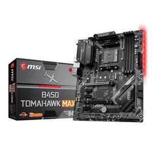 MSI AMD Ryzen B450 TOMAHAWK MAX AM4 ATX Motherboard delivered @ Scan for £89.99