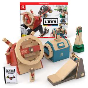 Nintendo Labo: Vehicle kit £14.99 (Prime) £17.98 (Non Prime) @ Amazon