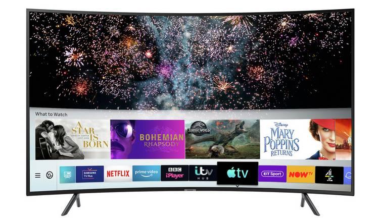 Samsung UE55RU7300KXXU (2019) 55 Inch, Curved Ultra HD, 4K HDR Smart TV £427 @ Very