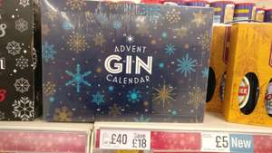 Gin Advent Calender in-store at iceland - £40