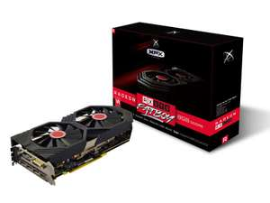 XFX RX 590 FATBOY 8GB OC Graphics Card - £163.48 Delivered @ Ebuyer