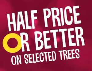 Half Price or Better on Xmas Trees and Lights at Wilko (5ft Canadian Fir Artificial Christmas Tree £20)