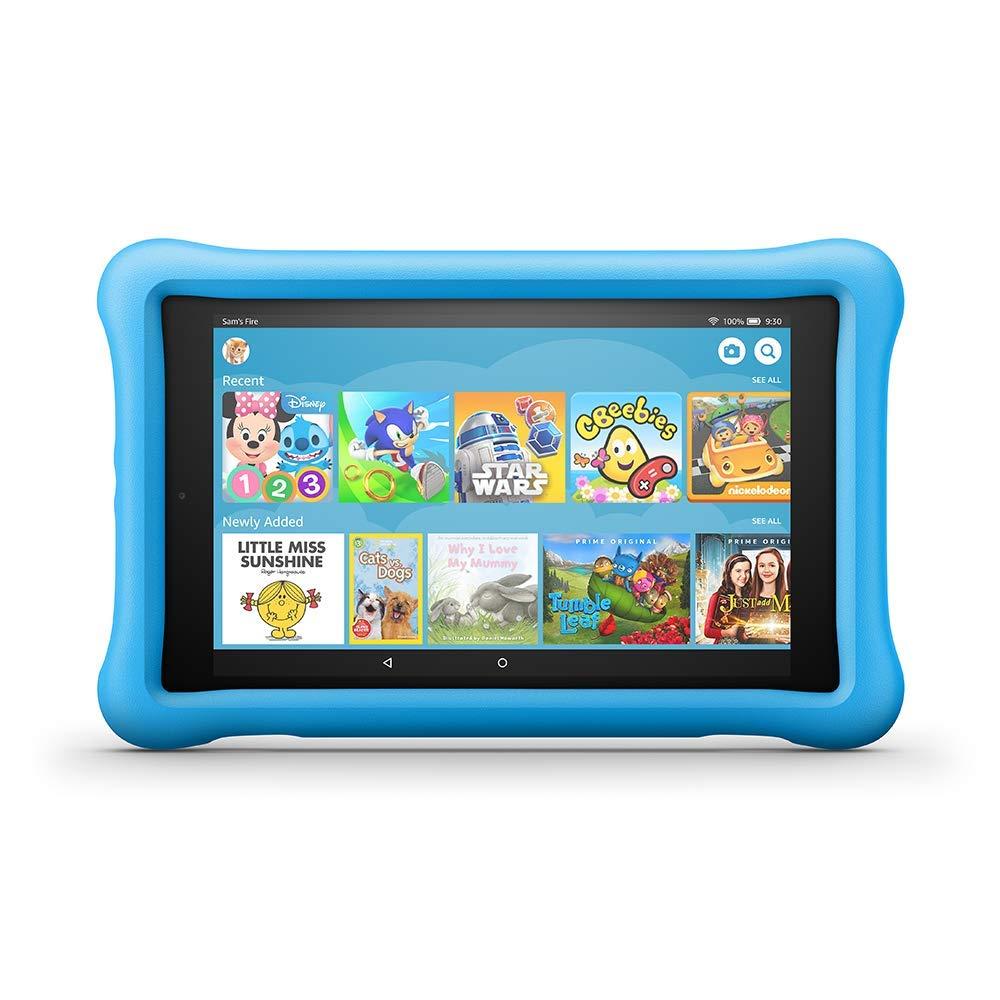 "Fire HD 8 Kids Edition Tablet, 8"" HD Display, 32 GB, Blue Kid-Proof Case £84.99 @ Amazon"