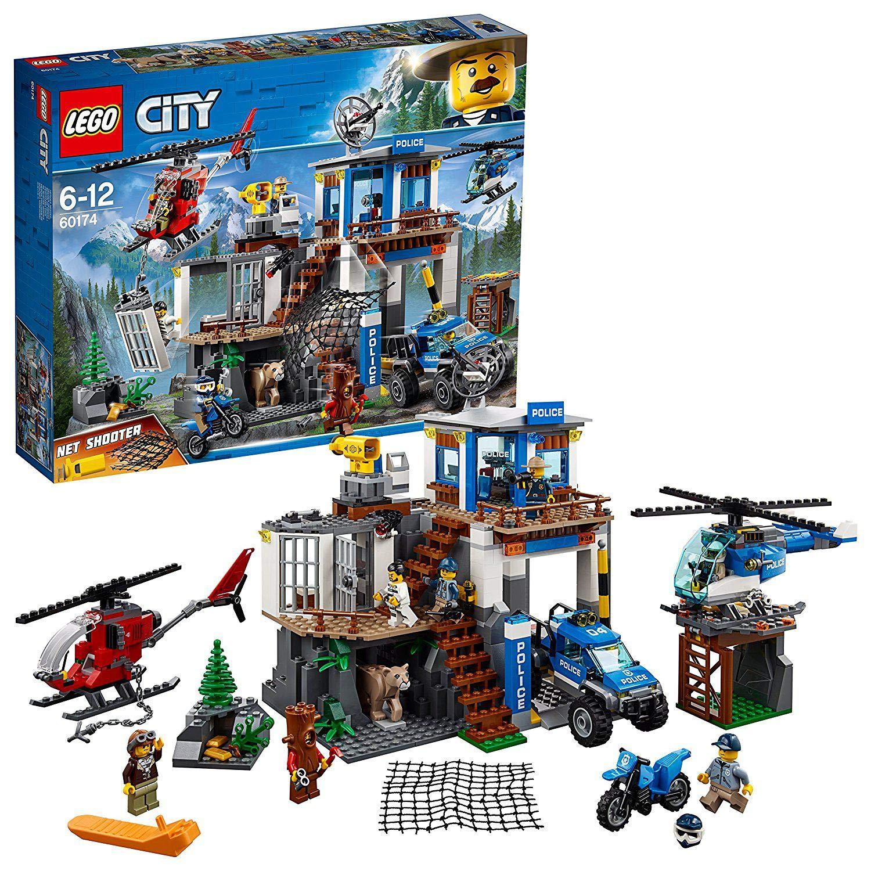 LEGO 60174 City Mountain Police Mountain Police Headquarters Station Set £39.99 @ Amazon