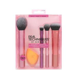 Real Techniques Everyday Essentials Makeup Brush Complete Face Set £10.90 (Prime) / £15.39 (non Prime) at Amazon