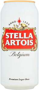 48 cans of Stella Artois (Amazon Prime) for £22 (see description for quantities) using £15 off £40 code