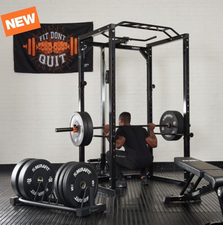 Mirafit Black Friday Home Gym Set Up £999 + £4.95 delivery Mirafit