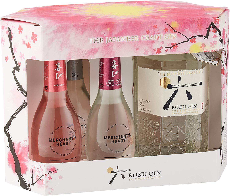 Roku Japanese Craft Gin Gift Pack £28 @ Amazon