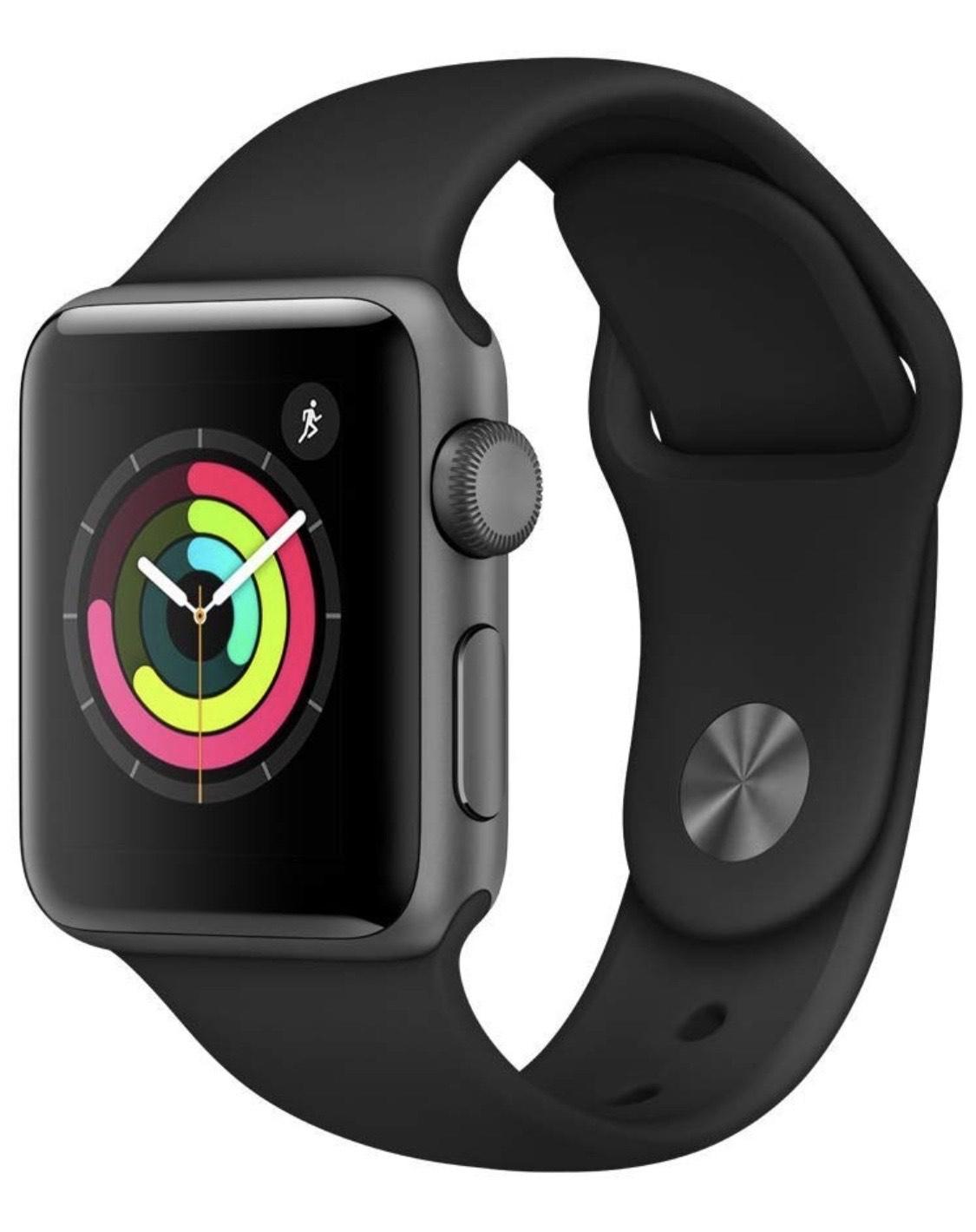 Apple Watch Series 3 (38mm) £185 @ Amazon