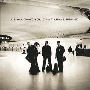U2 vinyl record 'All that you can't leave behind' £11.99 (+£2.99 Non Prime) @ Amazon