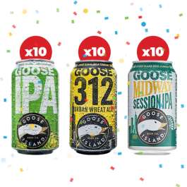 Beer Hawk - Black Friday - GOOSE ISLAND PARTY PACK (30 BEERS) - £30 (£1 A Can Delivered)