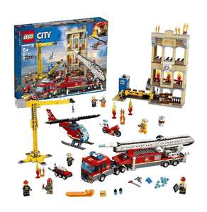 Lego City EGO 60216 City Fire Downtown Fire Brigade - £55 @ Amazon