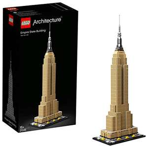 LEGO 21046 Architecture Empire State Building New York Landmark Set £62.99 (£60.12 with fee free card) @ Amazon France