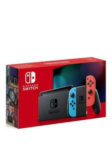 Nintendo Switch Neon Console (Improved Battery) £258.98 Delivered non-credit account with code at Very