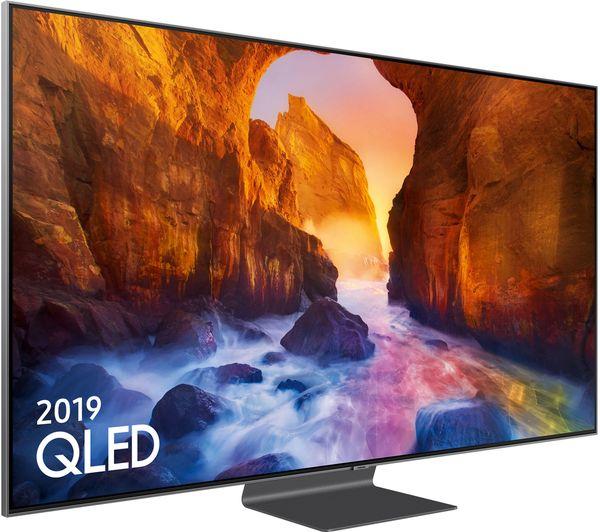 """SAMSUNG QE55Q90RATXXU 55"""" Smart 4K Ultra HD HDR QLED TV with Bixby £1499.99 Currys"""