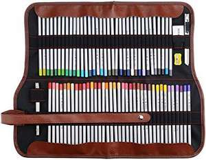 Marco Raffine coloured pencils (72) in roll-up case, £15.98 prime / £20.47 non prime Sold by Lightwish-EU and Fulfilled by Amazon