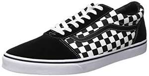 Vans Ward Canvas Mens Low Top Trainers £32.89 Delivered @ Amazon