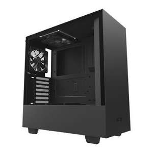 NZXT Black H500 Tempered Glass Window Midi PC Gaming Case £59.99 @ Scan