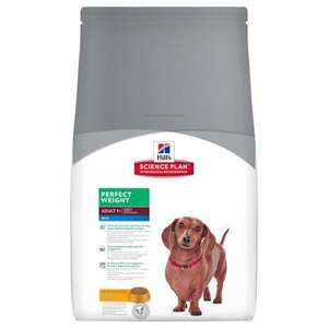 30 % discount on Hills Science Plan Perfect Weight, Mini Breed 6kg £19.59 @ Zooplus