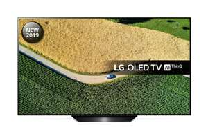 LG OLED65B9PLA 65 inch OLED 4K Ultra HD HDR Smart TV (6 Year Warranty) £1,679 with code at Richer Sounds